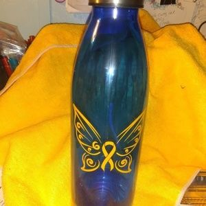 vinyl crafted water bottle